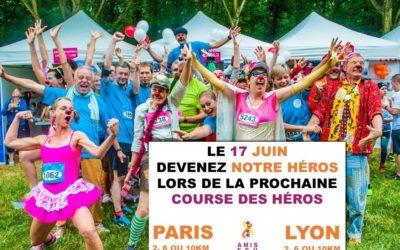 Pour la première fois, AMIS FSH va participer à la course des héros