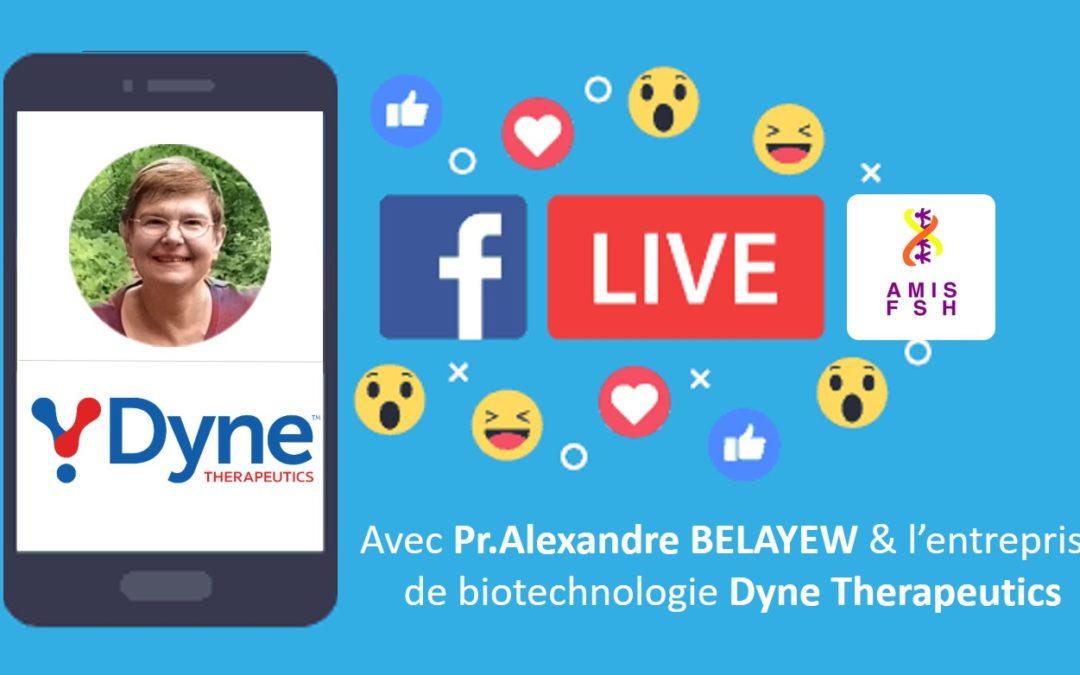 12ème Facebook Live avec Pr.Alexandra Belayew & Dyne Therapeutics 🔎 Zoom sur le recherche scientifique 🔎 Jeudi 18 Juin 2020