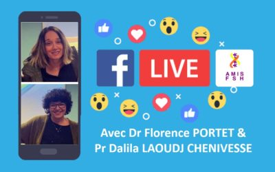 5ème Facebook Live avec Dr. Florence PORTET & Pr.Dalila LAOUDJ 🍇 AntiOxydants & FSHD 🍇 Jeudi 07 Mai 2020